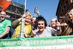 Dia do ` s de St Patrick fotos de stock