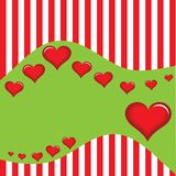 Dia do `s de Valentin Fotos de Stock Royalty Free