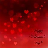Dia do ` s do Valentim do cartão Foto de Stock Royalty Free
