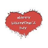 Dia do ` s do Valentim e quadro sob a forma do coração ilustração royalty free