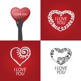 Dia do `s do Valentim ilustração royalty free