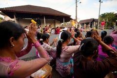 Dia do silêncio em Bali. Imagens de Stock