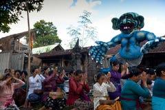 Dia do silêncio em Bali. Fotos de Stock Royalty Free