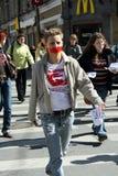 Dia do silêncio em St Petersburg Imagem de Stock Royalty Free