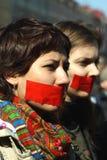 Dia do silêncio em St Petersburg Imagem de Stock