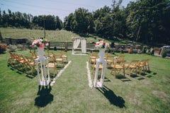 Dia do sol do casamento Imagens de Stock Royalty Free