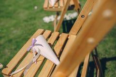 Dia do sol do casamento Foto de Stock