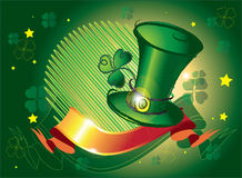 Dia do St. Patrick foto de stock