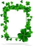 Dia do St Patrick dos cartões ilustração stock