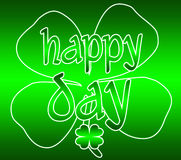 Dia do St Patrick feliz Imagem de Stock Royalty Free