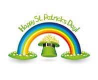 Dia do St Patrick feliz! Fotografia de Stock Royalty Free