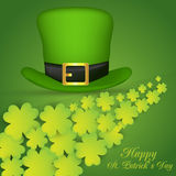 Dia do St Patrick feliz Vetor EPS 10 ilustração stock