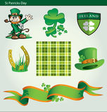 Dia do St Patricks ilustração royalty free