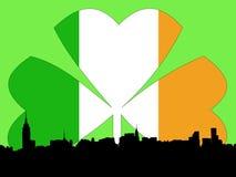 Dia do St Patricks de Manhattan Imagens de Stock