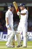 Dia 2012 do test match de Inglaterra v África do Sul ó 2 Imagens de Stock Royalty Free