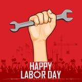 Dia do Trabalhador ilustração stock