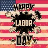 Dia do Trabalhador feliz Imagem de Stock