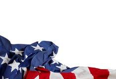 Dia do Trabalhador feliz Bandeira dos EUA Feriado americano fotografia de stock