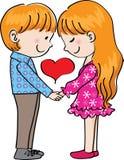 Dia do Valentim Foto de Stock