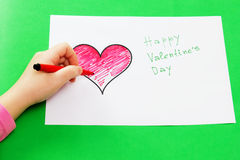 Dia do Valentim foto de stock royalty free