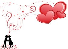 Dia do Valentim Imagens de Stock Royalty Free