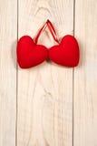 Dia do Valentim Coração vermelho da tela Imagem de Stock Royalty Free