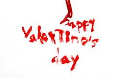 Dia do Valentim feliz Fotos de Stock