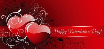 Dia do Valentim feliz! Imagens de Stock