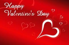 Dia do Valentim feliz Foto de Stock