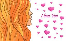Dia do Valentim s do cartão Foto de Stock
