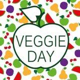 Dia do vegetariano ilustração royalty free