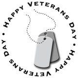 Dia do veterano feliz Ilustração Stock