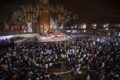 Dia do Virgin de Guadalupe Fotos de Stock