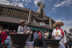 Dia do Virgin de Guadalupe Imagens de Stock