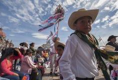Dia do Virgin de Guadalupe Imagem de Stock Royalty Free