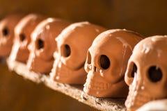 Dia dos crânios da morte Imagem de Stock
