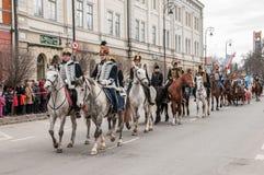 Dia dos Hungarians imagem de stock