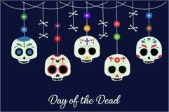 Dia dos mortos ilustração royalty free