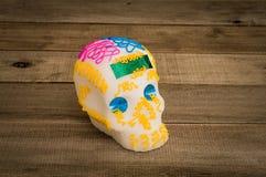 Dia dos mortos em México Crânio do açúcar Imagens de Stock Royalty Free