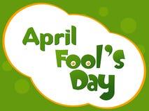 Dia dos tolos. ilustração do vetor Imagem de Stock Royalty Free