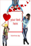 Dia dos Valentim Fotos de Stock