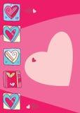 Dia dos Valentim. Corações. Foto de Stock