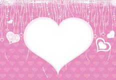 Dia dos Valentim. Corações. Fotografia de Stock Royalty Free