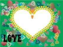 Dia dos Valentim do coração Ilustração Royalty Free