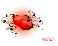Dia dos Valentim do coração Imagem de Stock Royalty Free
