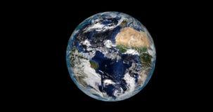 Dia e noite na terra do planeta ilustração stock
