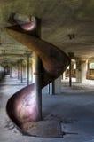 Dia in een verlaten molen Stock Afbeeldingen