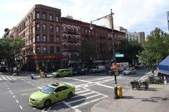 DIA-A-DIA EM HARLEM NEW YORK fotos de stock