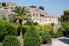 Dia em Pompeii imagem de stock