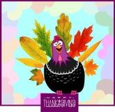 Dia engraçado da ação de graças de Turquia Foto de Stock